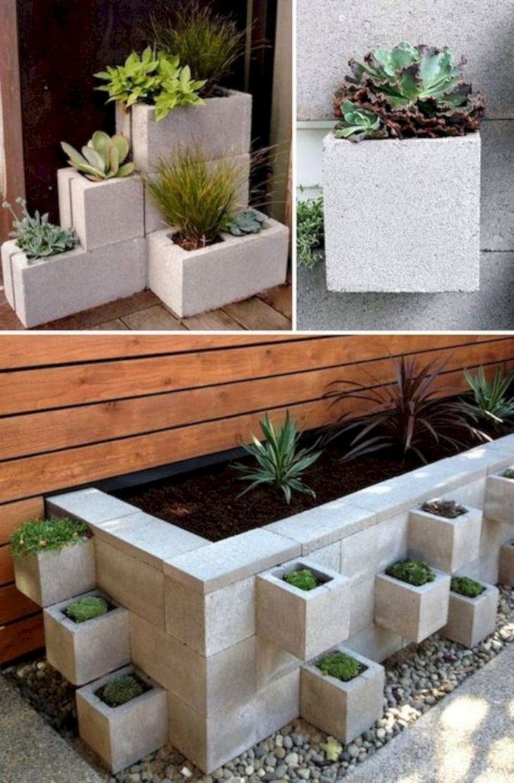 Garden Ideas Using Cinder Blocks