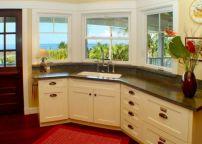 Kitchen Design with Corner Sink