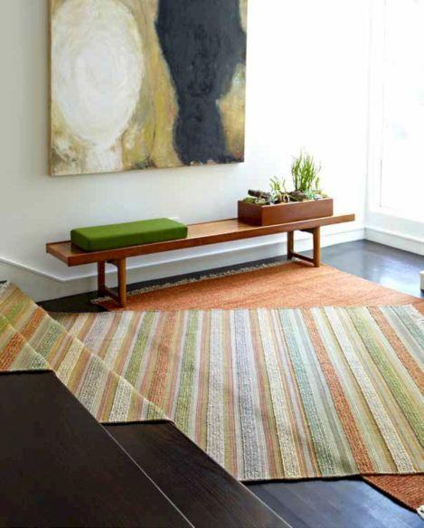 Layered Rugs On Carpet