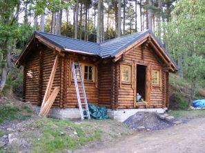 Log Cabin Hunting Lodge