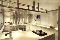 Luxury Yacht Interior Design Kitchen
