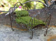 Miniature Fairy Garden Bed