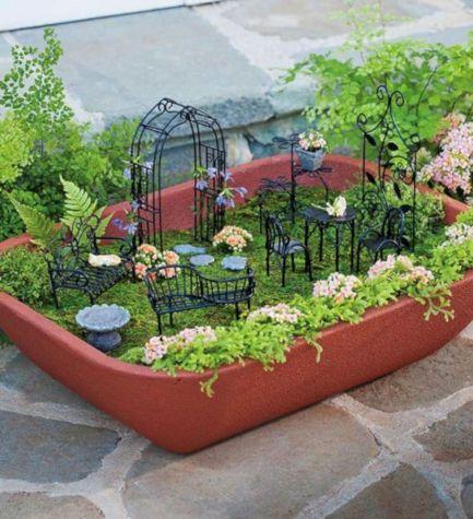 Miniature Fairy Garden Furniture