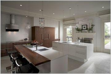 Modern Double Kitchen Island Designs