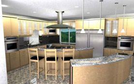 Modern House Kitchen Designs
