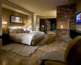 Modern Master Bedroom Fireplaces
