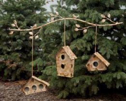 Most Popular Birdhouses Rustic in Your Garden 24