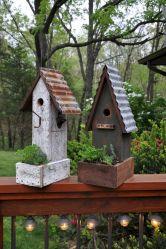 Most Popular Birdhouses Rustic in Your Garden 3