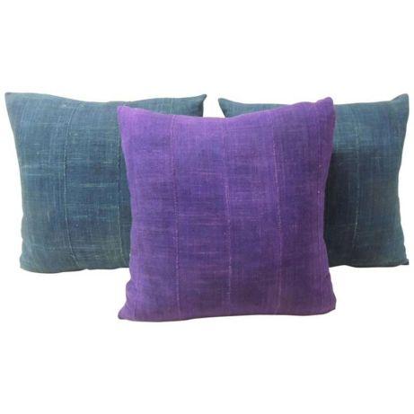 Mudcloth Pillow Color