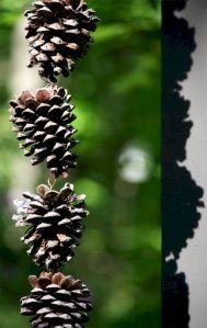 Pine Cone Rain Chain