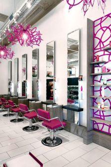Pink Beauty Salon Interior Design