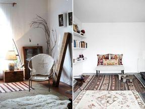 Pinterest Layered Rugs
