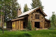 Rustic Mountain Cabin Home