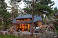 Rustic Stone Cottage Exterior