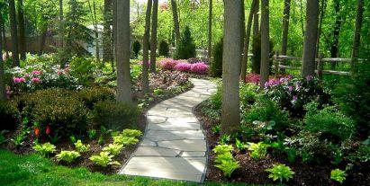 Shade Garden Landscape Plans