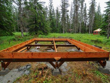 Small Hunting Cabin Floor Plan