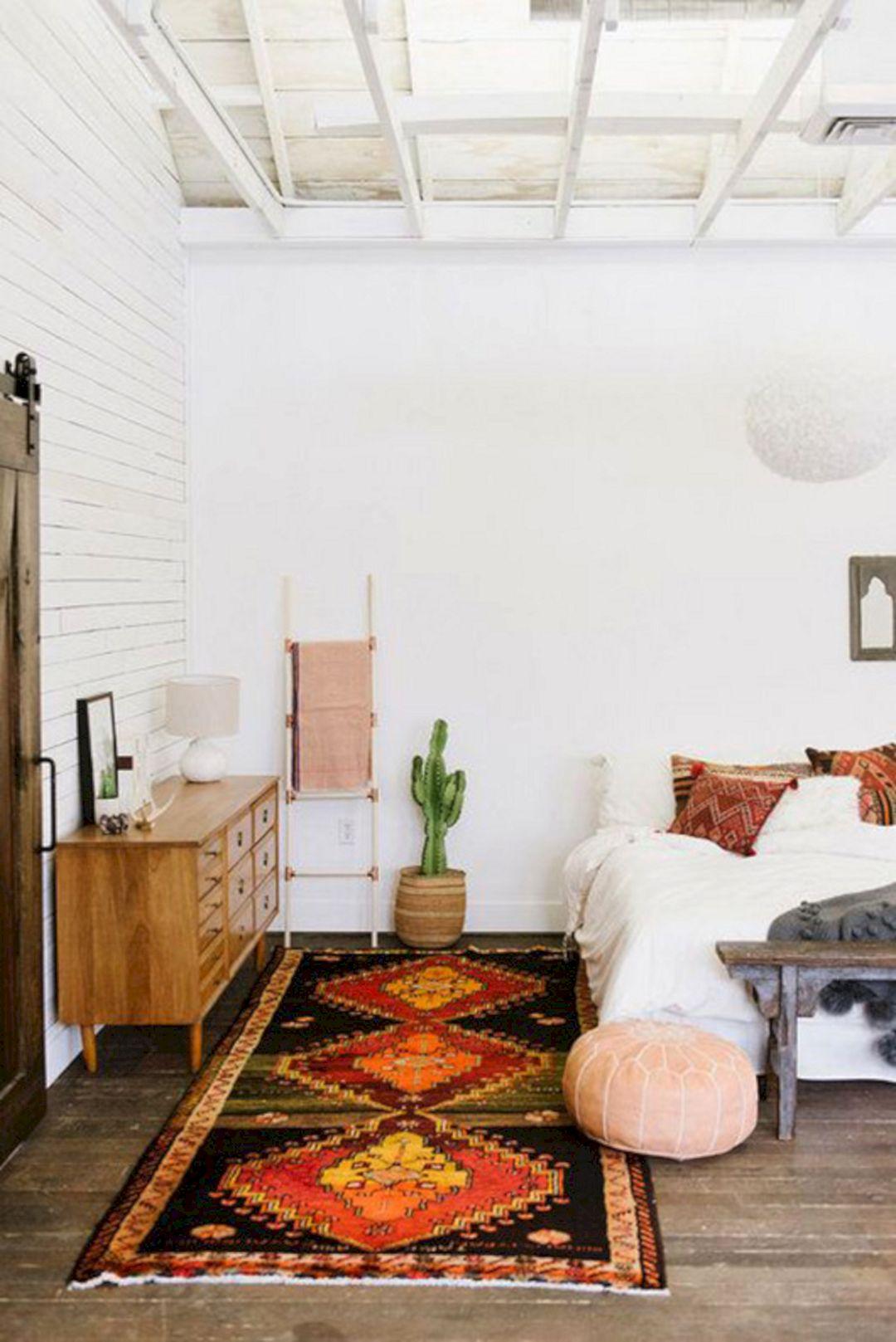 Spanish White Bedroom Style Design Ideas