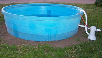 Stock Tank Pool Kids