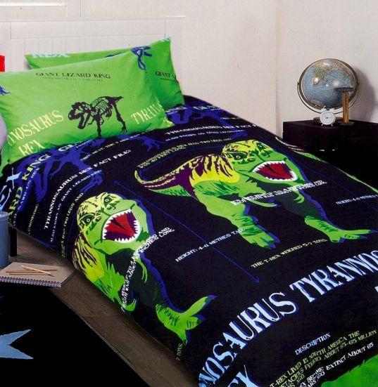 T Rex Dinosaur Twin Bedding Sets Boys