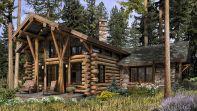 Telluride Log Cabin Plan