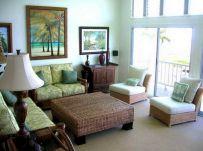 Tropical Living Room Interior Design