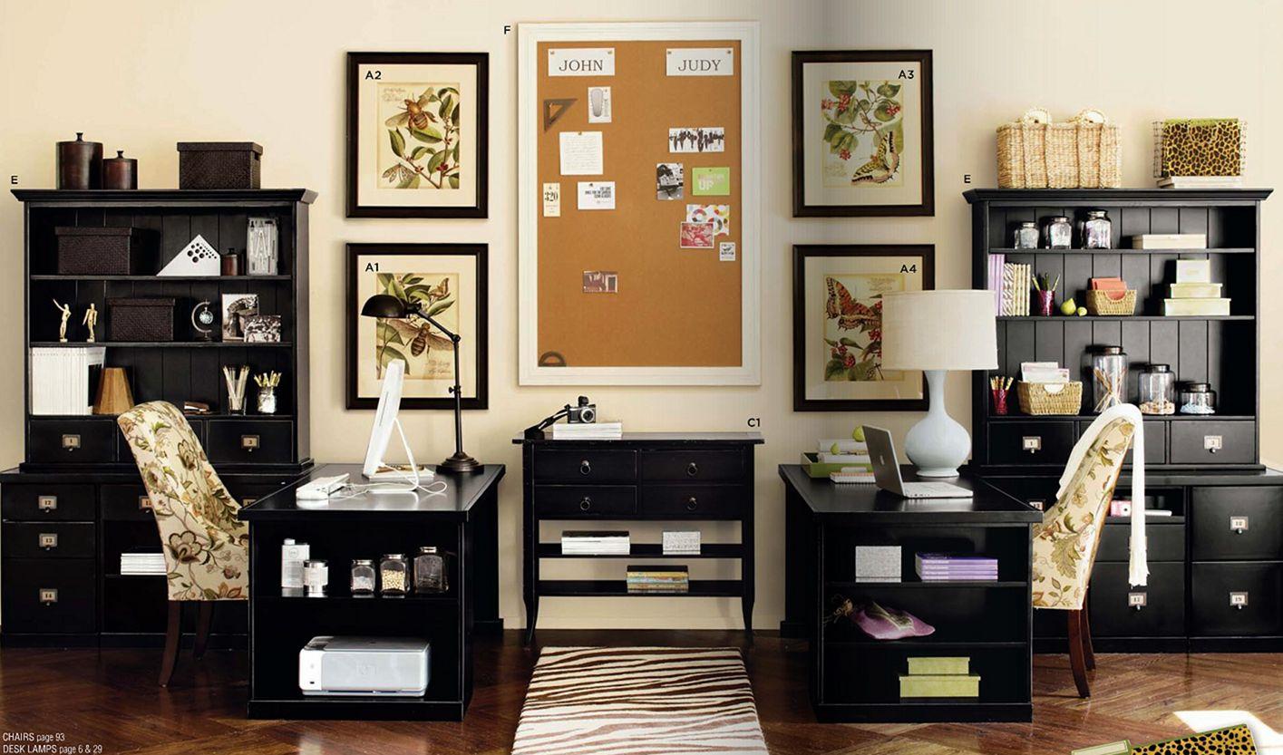 Two Desk Home Office Ideas Decoredo