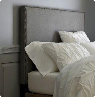 Upholstered Headboard Nailhead Tall