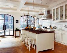 White Kitchen with Butcher Block