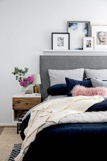 65 The Best Way to Beautify Your Bedroom Headboard 0037