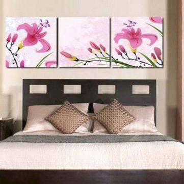 65 The Best Way to Beautify Your Bedroom Headboard 0040