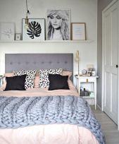 65 The Best Way to Beautify Your Bedroom Headboard 0045