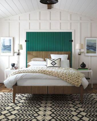 65 The Best Way to Beautify Your Bedroom Headboard 0051