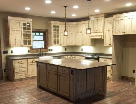 Amazing Farmhouse Kitchen Design And Decorations Ideas 088