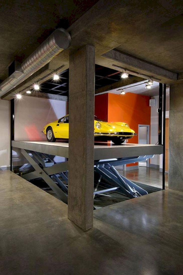 Architecture Underground Garage