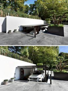 Incredible Underground Parking Garage Design DECOREDO - Houses with underground garages