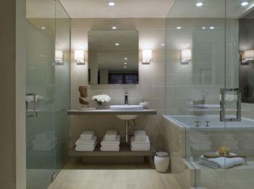 Asian Bathroom Shower Design Ideas