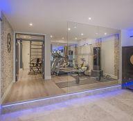 Basement Home Gym 2