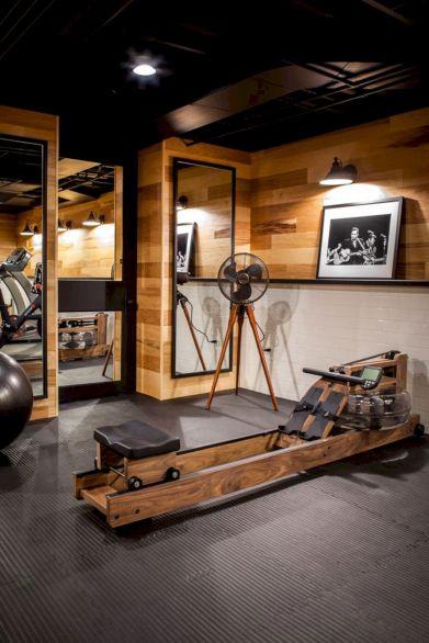 Basement Home Gym 6