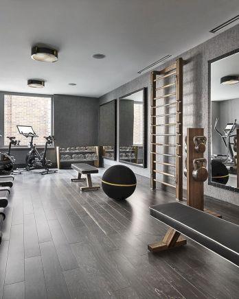 Basement Home Gym 7
