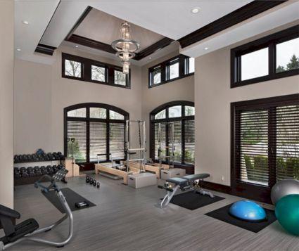 Basement Home Gym 8