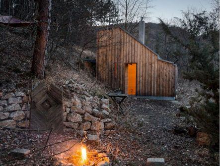 Best Small cabin designs ideas 12