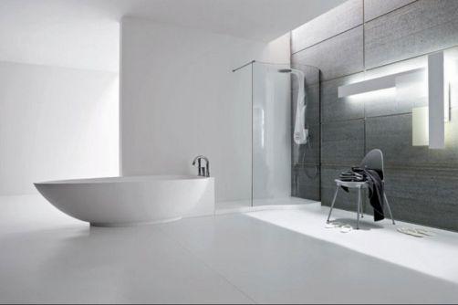 Black and White Modern Bathroom Designs