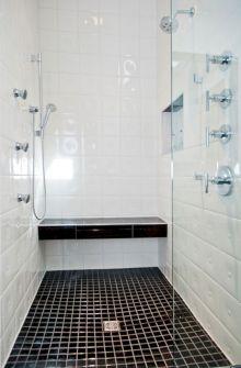 Black and White Modern Bathroom Remodel