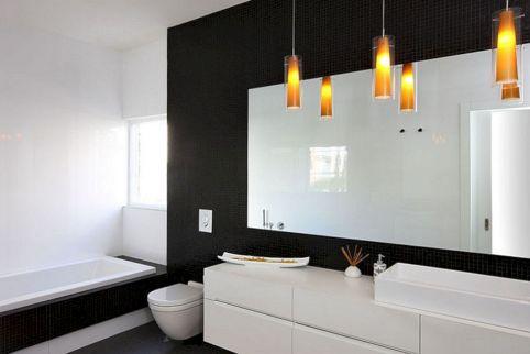 Black and White Modern Bathrooms