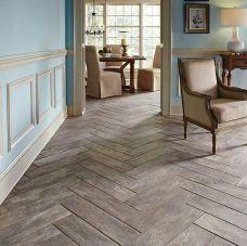 Chevron Parquet Flooring Design