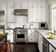 Concrete Kitchen Countertops with White