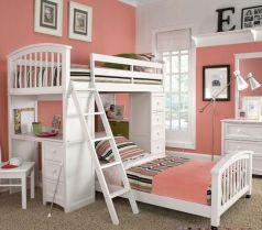 Cozy Bed Loft Ideas For Beloved Twin Kids 11