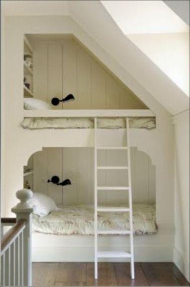 Cozy Bed Loft Ideas For Beloved Twin Kids 271