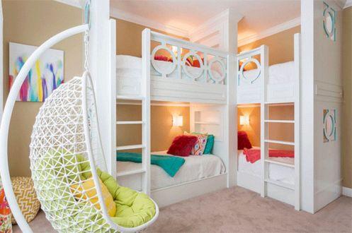 Cozy Bed Loft Ideas For Beloved Twin Kids 301