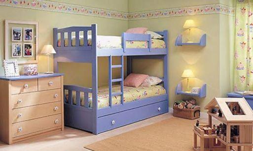 Cozy Bed Loft Ideas For Beloved Twin Kids 61